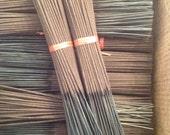500 Incense Blank BLack Sticks