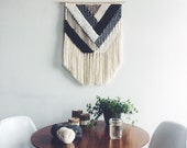 Woven Wall Hanging | Geometric Neutral Weaving