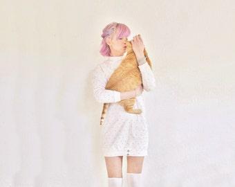 pastel pink mad max top . 1980 workout or...sleep wear .medium.large