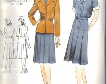 Vogue Vintage Original 1940 Design 2196