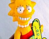 Vintage 1990 Lisa Simpson Doll
