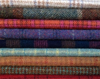 Felted Wool, 8in.x 8in. - Textures - for Applique, Penny Rugs, Sewing Projects - W512