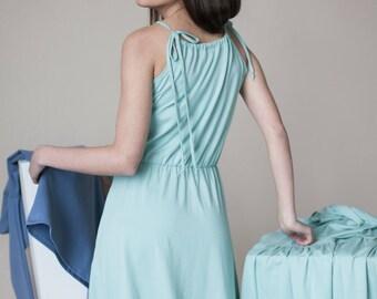 Sleeveless dress   Straps dress   Vacation dress   LeMuse sleeveless dress