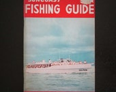 1964 Suncoast Fishing Guide for Florida West Coast Booklet Pamphlet Eleventh Edition