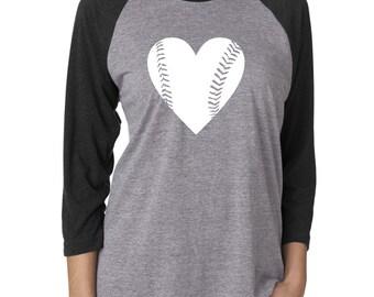 Baseball Mom Shirts. Baseball Mom Tee. Baseball Shirt. Baseball Raglan Shirt. Baseball Girlfriend Tshirt. Baseball Heart Slouchy Shirt