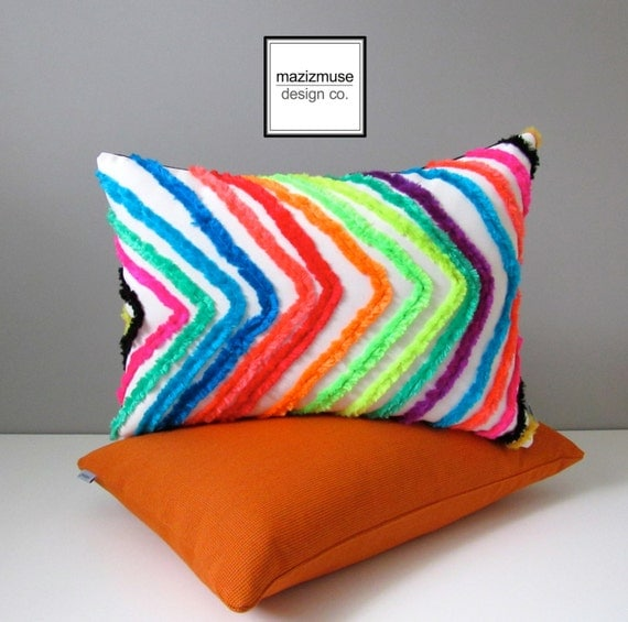 Colorful Outdoor Pillow Cover Decorative Moroccan Tribal