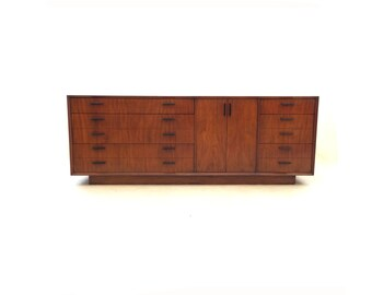 Vintage Modern Dresser In Wood