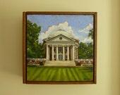 UVA Rotunda Painting 6x6