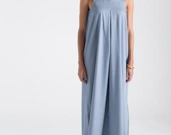 NEW Maxi Dress / Oversize Summer Dress / Cotton Dress / Sleeveless Dress / Designer Dress / marcellamoda - MD692