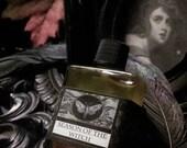 Season of the Witch  Natural Fall  Perfume Oil 1/2 oz  Cinnamon, Coriander,Apple,  Rose, Patchouli, Lavender,Frankincense, Black Pepper