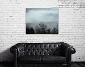 landscape canvas art smoky mountains tennessee blue bedroom decor nature photography large wall art mountain canvas print gallery canvas