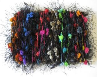 Puffs And Eyelash Art Fiber Bundle Card