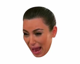 Crying Kim Kardashian Babe Magnet