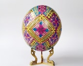 2 business day delivery to USA ostrich egg pysanka Ukrainian Easter egg gifts for mothers,sister, wife, baba