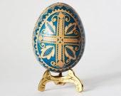 Ostereier,Pysanka,Ukrainian Easter egg,batik art,chicken egg acide etching method,Easter 2016,wedding gift, handmålade ägg,Pâques,Easter egg