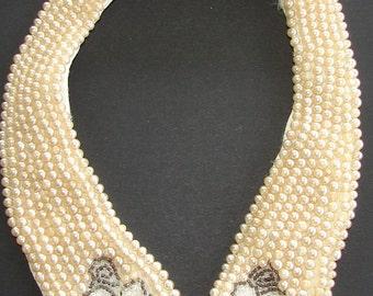 Beaded Vintage Collar