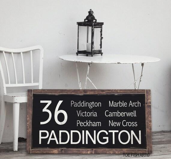 London England, Vintage look- Typography, Bus Blind, Routemaster, Destination Art