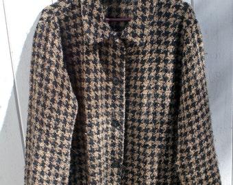 Irish Wool Jacket Handcrafted