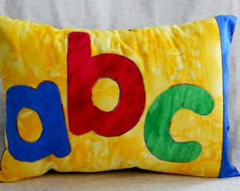 ABC Alphabet Pillow for Kids Rooms
