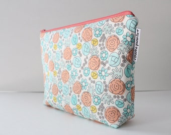project bag -- whimsy floral