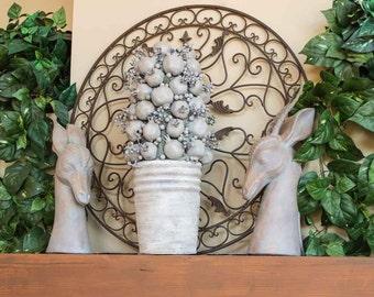 Large Artificial Pomegranate Arrangement Mantle Decoration Home Decor Fruit Arrangement