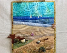 Unique beach quilt pattern related items Etsy