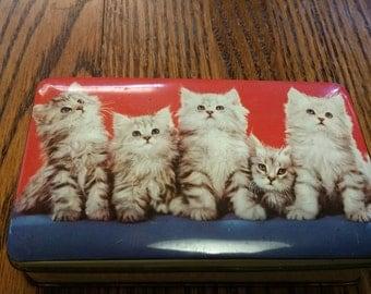 Kittens Tin Thorne's England vintage