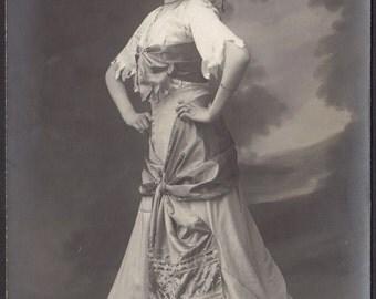 My Gypsy Dance will Destroy You. French Postcard, circa 1905