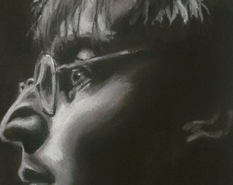 John Lennon digital print, ltd edition