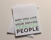 Old Age Birthday Card - A2 Greeting Card - Humorous Birthday Card - Funny Birthday Card