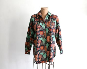 Elephant Cotton Blouse