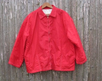 Vintage Birdwell Beach Britches Jacket Mens Large