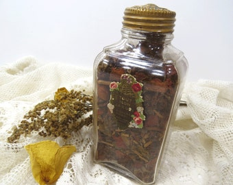 Tout Mon Jardin Potpourri Sachet Bottle - Original Potpourri -  Richard Hudnut 1914 - Gift for Her - Home Decor