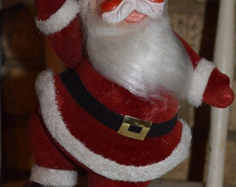 "Vintage Dancing 9"" Santa - Christmas Holiday"