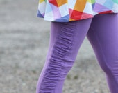 Sew Like My Mom Peony Leggings PDF pattern 12m - 8