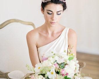 Bridal Hair Vine, Ivory Pearl Wedding Hair Piece, Pearl Bridal Headpiece, Ivory Bridal Headpiece PEARL