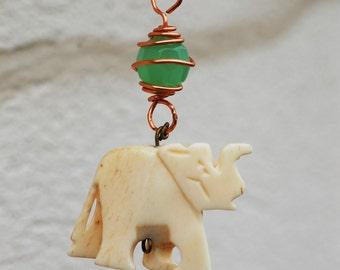 Ivory Elephant Necklace