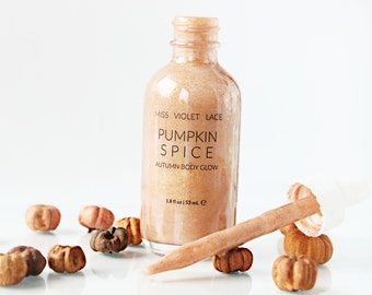 Pumpkin Spice Shimmer | Autumn Body Lotion | Fall Body Cream | All natural & vegan