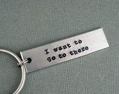 Liz Lemon 30 Rock I Want to Go to There Keychain by TheCopperFox