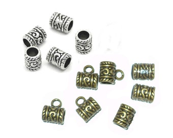 pick color: 6 big hole dread beads