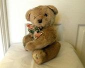 Vintage Bear - Teddy Plush Toy - Sandersons Bear - Tubby 11 inch Teddy
