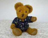 "Vintage Bear - 1960's Toy - Plush Teddy - 18"" Bear"