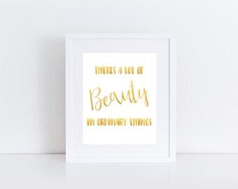 """Home Print: Beauty // 8x10"""" printable"""