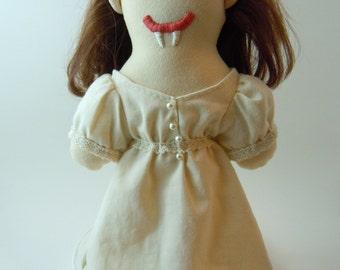 Doctor Who Vampires of Venice Calvierri Vampire Plush Doll