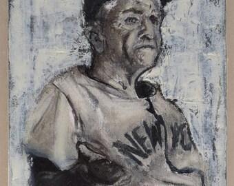 """Original oil painting """"Stengel"""""""
