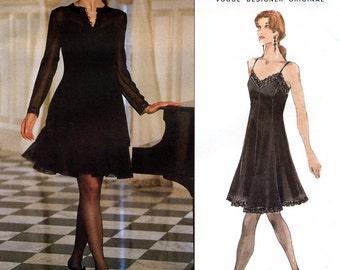 Vogue Designer Original 1501 Sewing Pattern by Bellville Sassoon for Misses' Jacket and Dress - Uncut - Size 14, 16, 18