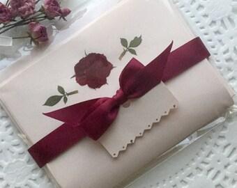 Pressed Flower Art Greeting Cards By PatsysPressedFlowers