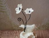 Spring Ceramic Bird/Nest Cake Topper/Place Card Holder/Wedding/Baby Shower/Bridal Shower