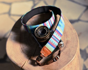iMo River Navajo camera strap suits for DSLR / SLR with quick release buckles