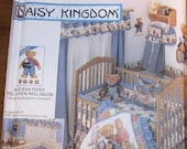 Simplicity 9311 Daisy Kingdom Baby's Nursery, Quilt, Sheet, Bumpers, Curtains, Bib Home Decorating Crafts Sewing Pattern Uncut Factory Folds